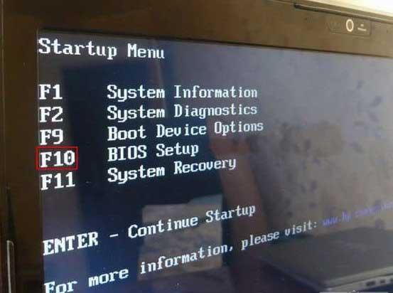 Làm thế nào để đi đến BIOS trên máy tính xách tay HP. Hai tùy chọn làm việc Chuyển đến Cài đặt BIOS