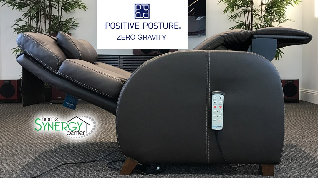 True Zero Gravity recliners from Positive Posture now at Computer Advantage.