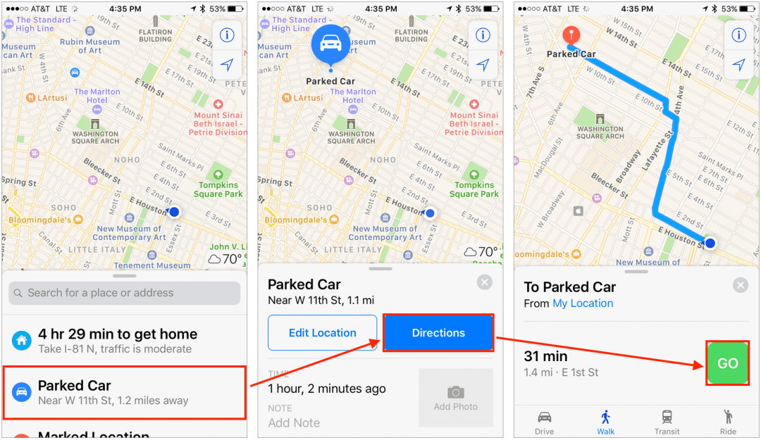 Did You Know Your iPhone Can Help You Find Your Parked Car?