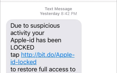 Ignore Unsolicited Calls and Texts from Apple and Other Tech Companies