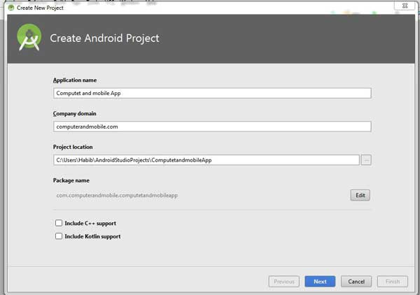 covert website to android application