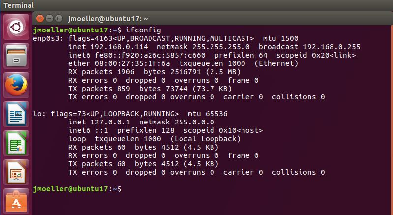 Find The MAC Address From The Command Line In Ubuntu 14 04