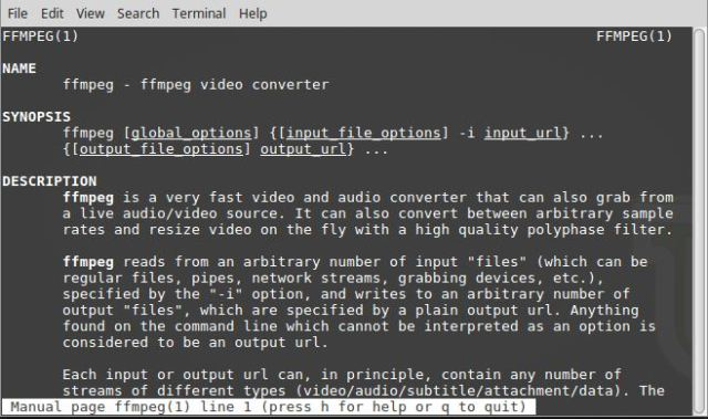 Convert Audio & Video With ffmpeg In Linux Mint 18 2 – Computer