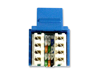how to punch down rj45 keystone jacks  computer cable store