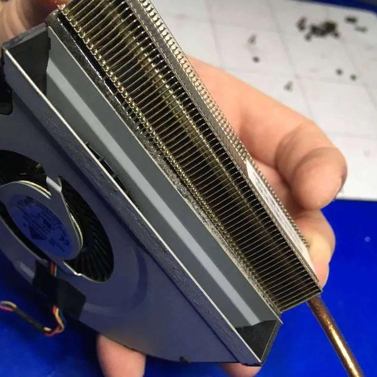 rejilla del ventilador limpia