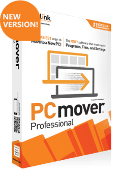 PCmover box by Laplink
