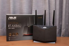 華碩RT-AX86U 雙頻 Wi-Fi 6電競無線路由器開箱試用介紹