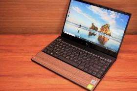 極致輕薄加上Intel 10代處理器魅力 HP ENVY 13核桃木紋限定版開箱