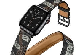 陷入選擇困難!Apple Watch 春季新色錶帶上架 Hermès 全黑皮革錶帶最出風頭