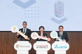 全台第一座5G智慧工廠誕生 遠傳、台達、微軟三強聯手展現跨界綜效