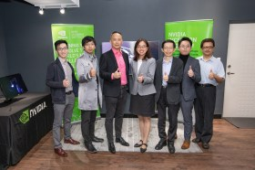 全亞洲首座「NVIDIA Inception AI 新創基地」入駐林口新創園