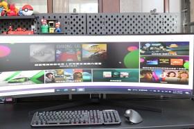 採Mini LED背光畫質更上一層樓!三星曲面電競螢幕奧德賽 Odyssey Neo G9開箱分享