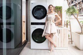 LG推出WashTower AI智控洗乾衣機讓「洗乾」革命!