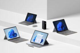 大升級!微軟發表專為Windows 11打造的多款全新Surface及配件
