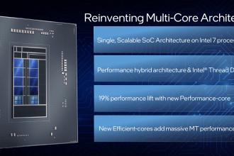 12代 Intel  Core 處理器大解密!帶來超多新技術與架構