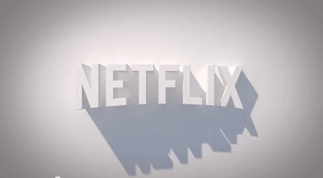 NetFlix 3D logo