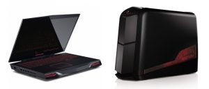 Alienware M18x și Alienware Aurora