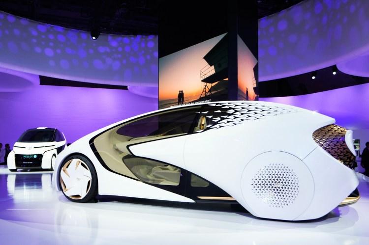 トヨタ Concept-愛I AIを応用し「人を理解する」パートナーとして進化。車が「モノ」から「者」へ。