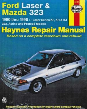 Ford Laser & Mazda 323 1990  1996 Haynes Owners Service