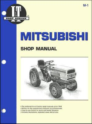 Mitsubishi Diesel 1984  1991 Tractor Owners Service & Repair Manual 0872884422 9780872884427