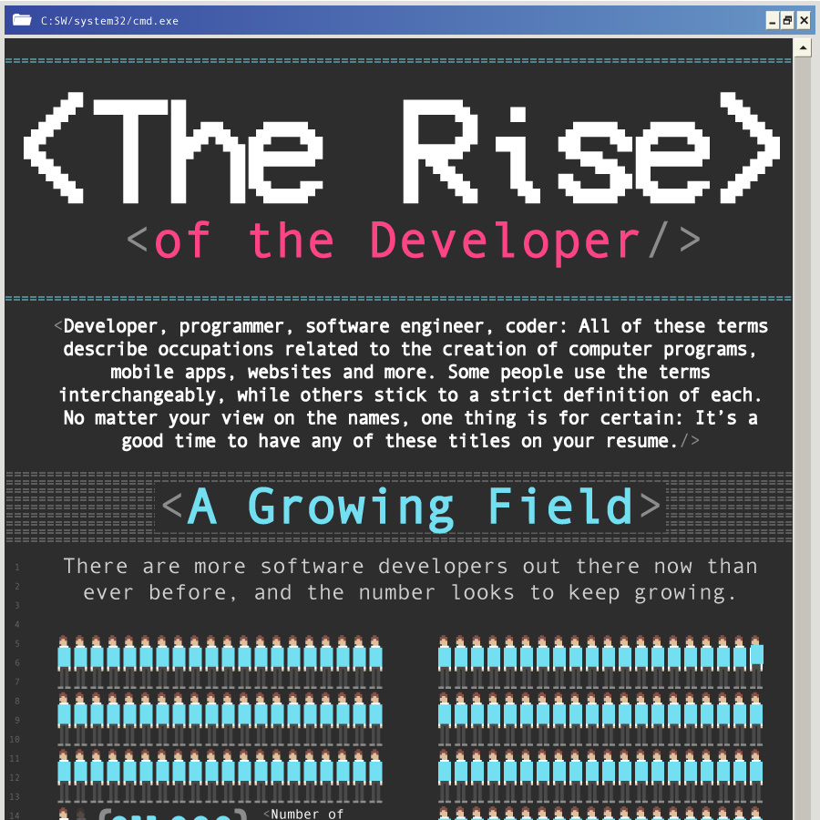 The Rise Of The Developer Computer Science Zone