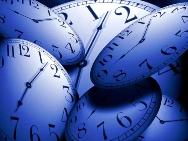 Blauwe klokken