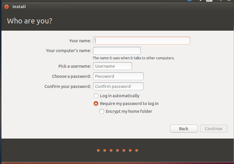 How to install ubuntu 14.04 Desktop with Encrypted LVM