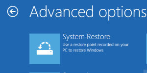 Windows System Restore