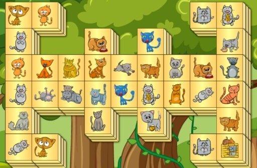 Cats Mahjong - kostenlos bei Computerspiele.at spielen!