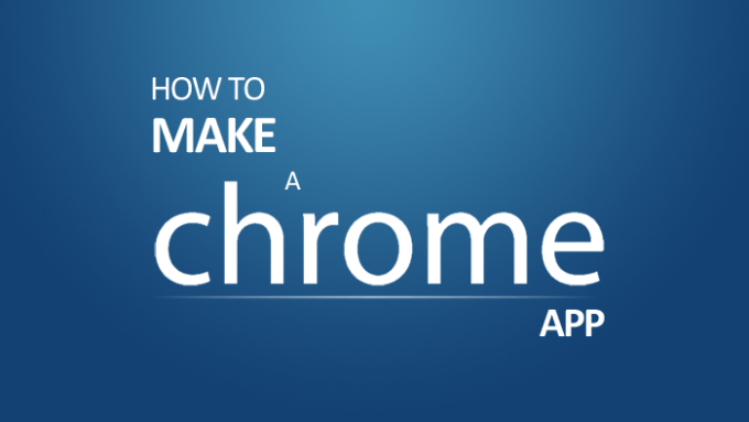 make chrome web app