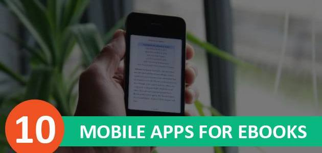 Top 10 Mobile Apps for EBooks