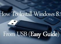How To Install Windows 8 1 From USB