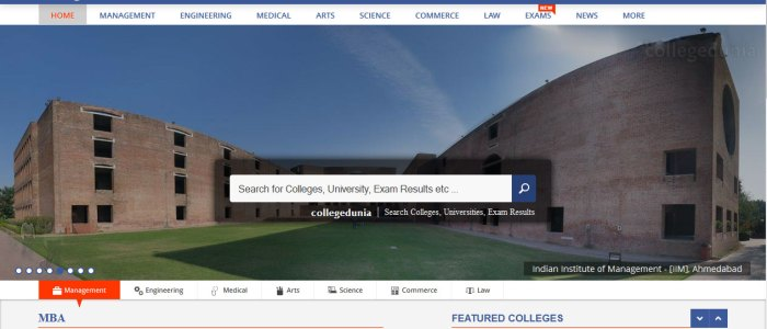 CollegeDunia Review: Now choose colleges at a laptop near you