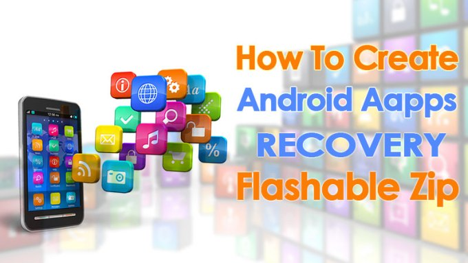 Android apps recovery