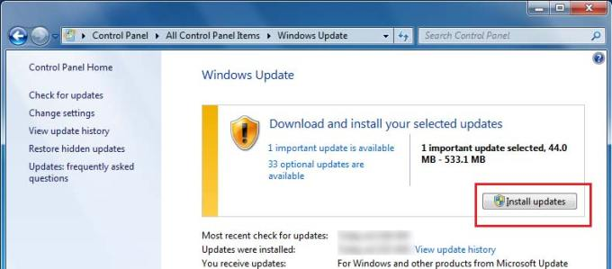 win 7 service pack