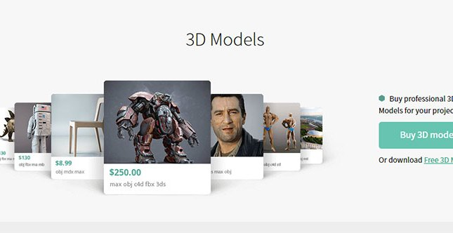 Sell 3D Models
