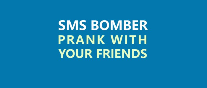 SMS Bomber To Prank With Your Friends (Working)