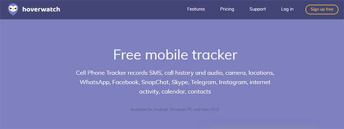 Free android spy: Track You Mobile Calls