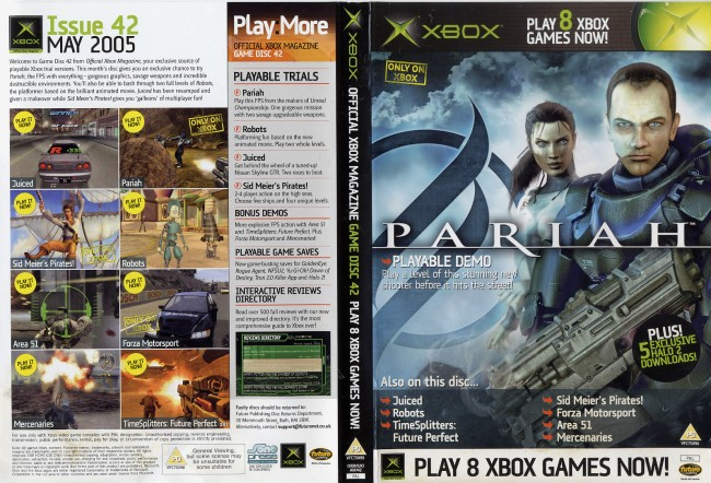 Official Xbox Magazine Game Disc 42 Computing History