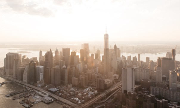 Winter NYC Skyline