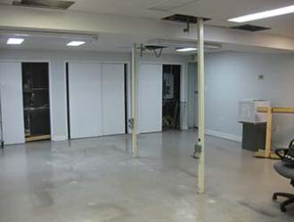 Old Production Room Empty