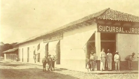En 1898 se estableció en Marcala una sucursal de la Casa Rossner