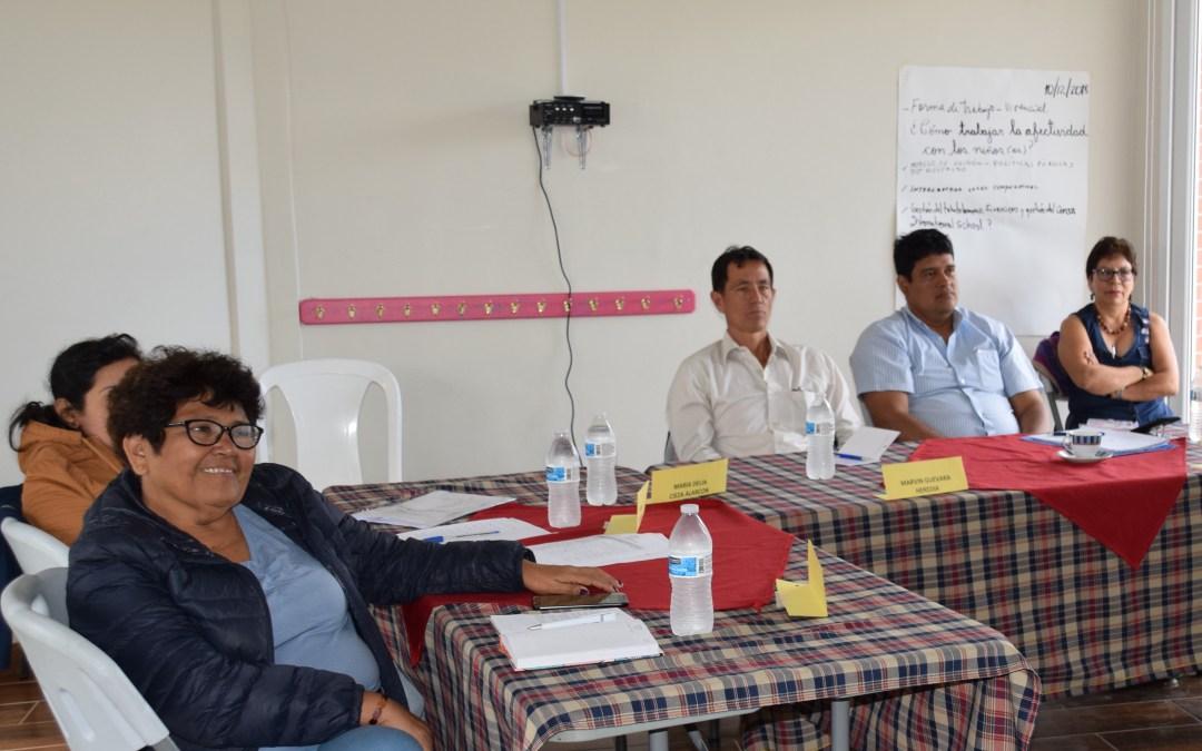 Representantes de la cooperativa Sol y Café se empoderan del  Modelo Educativo de COMSA