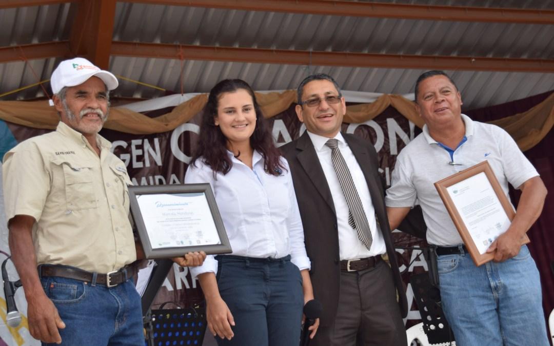 Marcala recibe certificado como Ciudad Comercio Justo