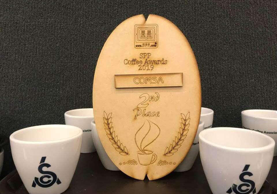 COMSA obtiene el segundo lugar en la competencia de cafés especiales