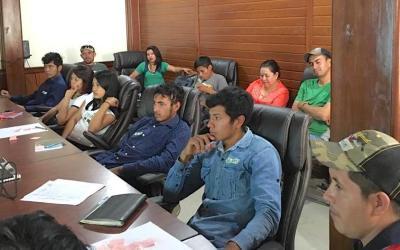 Jóvenes de COMSA inician proceso para fomentar el emprendedurismo
