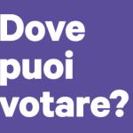 Dove posso votare? Le sedi del voto assistito per il bilancio partecipativo
