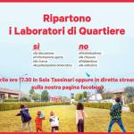 Al via i Laboratori di Quartiere 2019