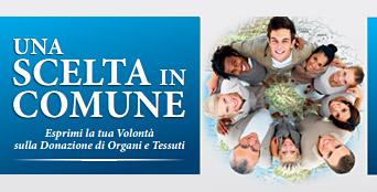 Dal 16 maggio il Comune registra sulla carta di identità l'opzione sulla donazione di organi