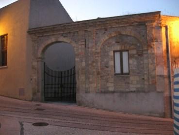 Il portale d'ingresso alla Pinacoteca